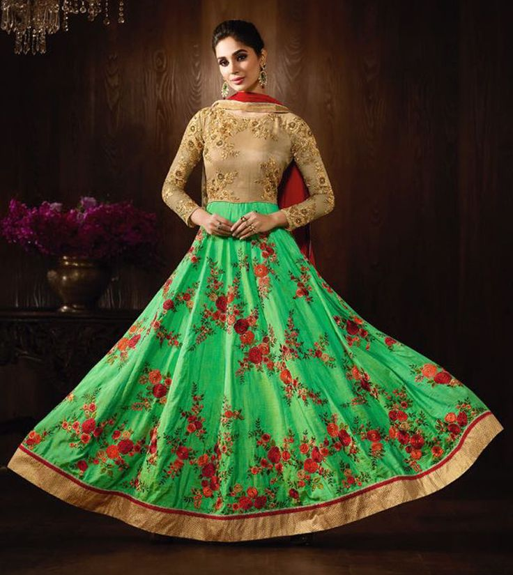Indian Pakistani Anarkali Designer Semistihed Wedding Salwar kammez Freeshipping #Shoppingover #SalwarKameez