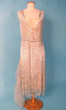 Beaded pink 1920s dress - love this for bridesmaids for my 1920's wedding!