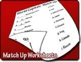 Match-up Worksheet Maker