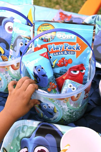 LAURA'S little PARTY: Finding Dory Party Ideas. Finding Dory is now out in theaters! Have you seen it yet?! Celebrate with a fun 'Just Keep Swimming' party!