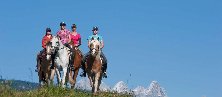 Altenmarkt-Zauchensee Sport und Natur Reiten Pferde
