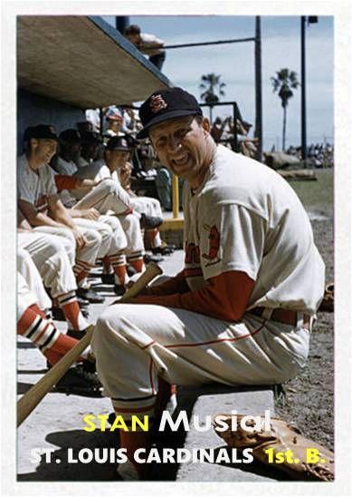 Stan Musial St. Louis Cardinals