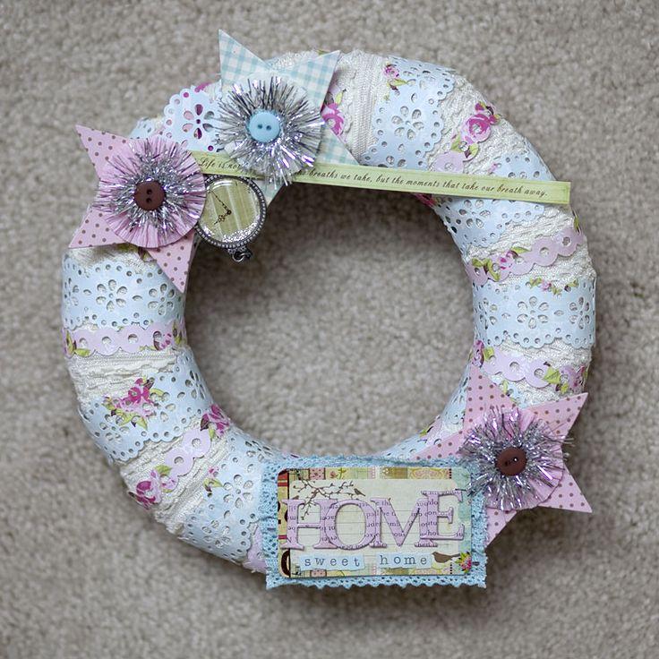 home sweat home wreath