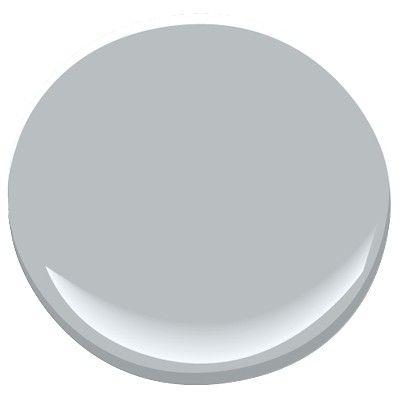 Benjamin Moore Thundercloud Gray, mid tone gray, similar to Winter Solstice. A Candice Olson designer color pick.