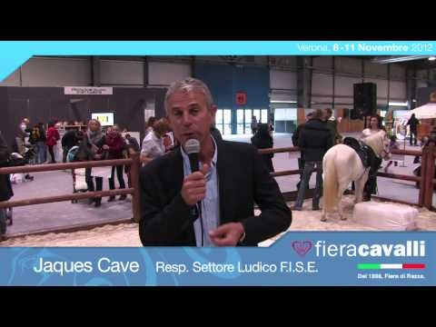 Intervista a Jaques Cave, Resp. Settore Ludico di F.I.S.E. #fieracavalli