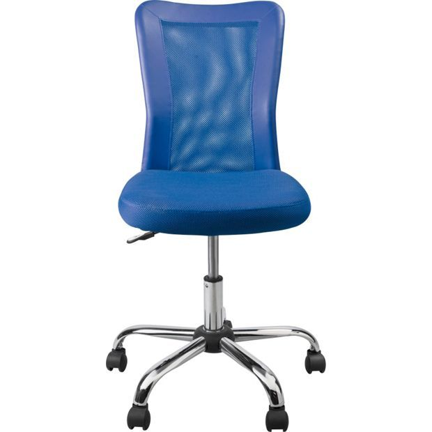 Buy Reade Mesh Gas Lift Adjustable Office Chair - Blue at Argos.co.uk, visit Argos.co.uk to shop online for Office chairs, Office furniture, Home and garden