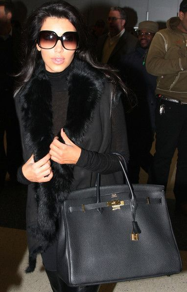 Kim Kardashian Photos And Khloe Arrive In New York 2018 Birkin Bag Pinterest