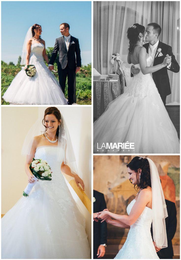 Ocotal esküvői ruha - Pronovias kollekció - Zita menyasszonyunk  http://mobile.lamariee.hu/eskuvoi-ruha/pronovias-2015/ocotal