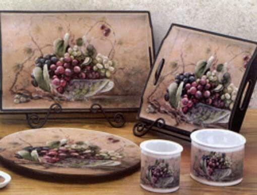 Luxury Grape Decor For Kitchen Green Grape Kitchen Decorations