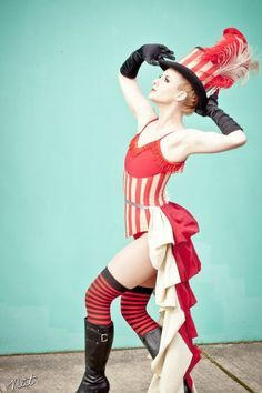 Vintage Circus Costume on Pinterest | Circus Costume, Bearded Lady ...