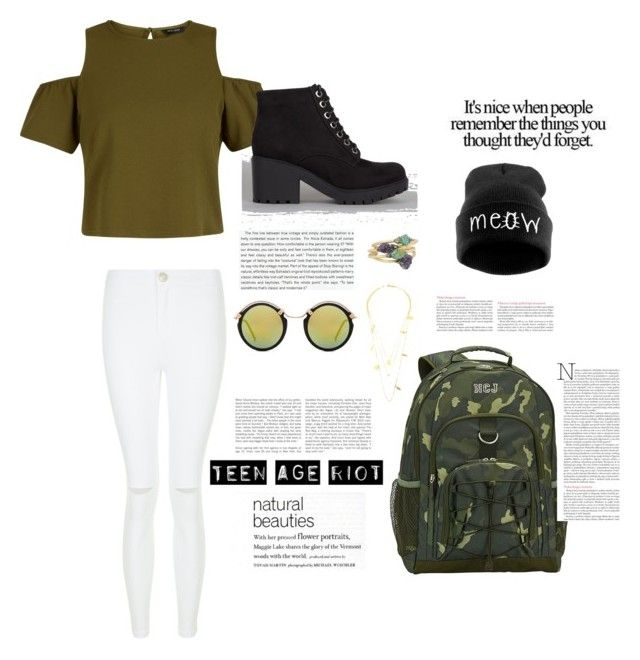 """""""army wear"""" by arianak16 on Polyvore featuring PBteen, New Look, Stop Staring! and Spitfire"""