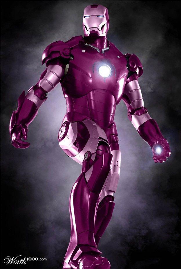 Purple Iorn Man Looks Like Iron Man Decided To Repaint