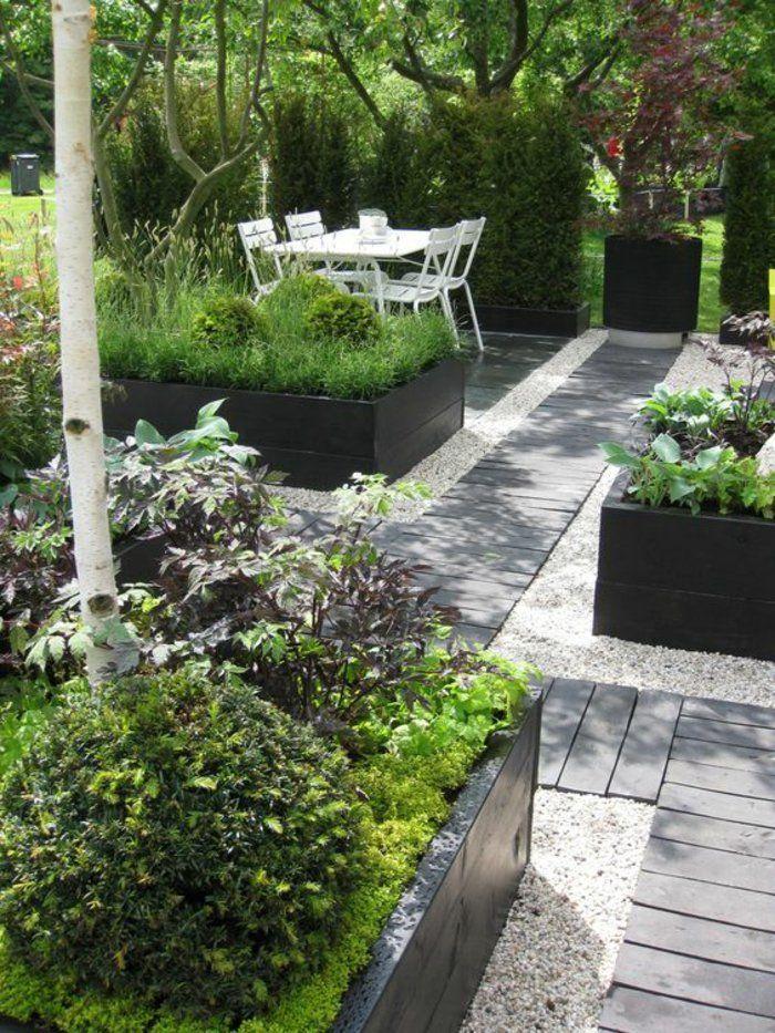 Die besten 25+ kleiner Hinterhof Landschaftsbau Ideen auf