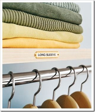 That just looks wonderful! An organized closet is so nice.
