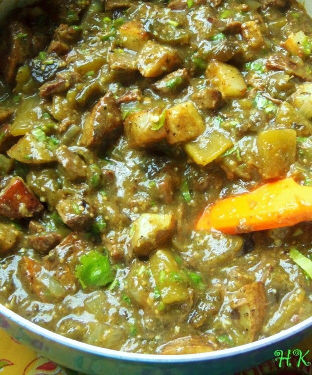 Pork Chile Verde with Potatoes | Hispanic Kitchen