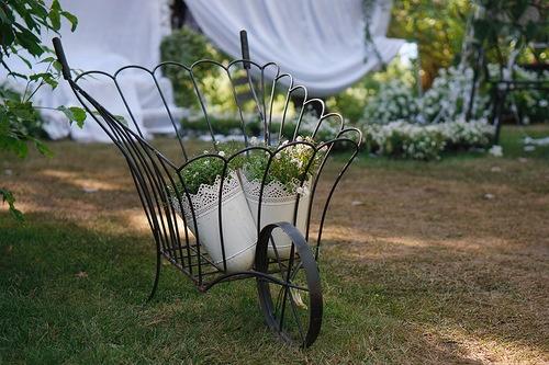 senama — «Декоративная садовая тачка.» на Яндекс.Фотках