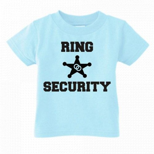 Ring security custom kids youth or toddler by KIDSROCKCLOTHING, $10.99