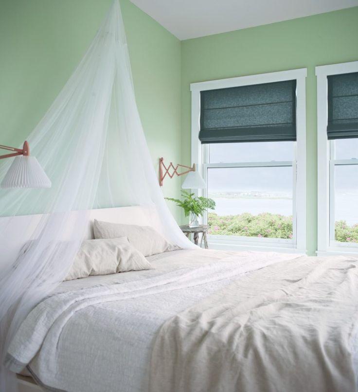 guest bedroom colors 2014. the new neutrals: paint color trends for 2014 - country: benjamin moore\u0027s van alen green creates a calming oasis in bedroom guest colors