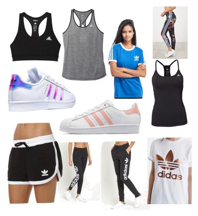 """Adidas"" by emiliesevel on Polyvore featuring adidas Originals and adidas"