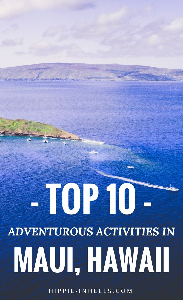 There are so many adventurous activities in Maui, Hawaii whether you're traveling or on vacation! Here are the best 10 things to do if you're looking for an adrenaline rush