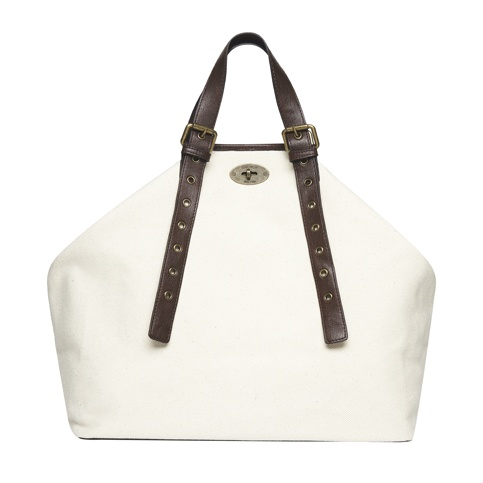 HAMPTON SHOPPER WHITE