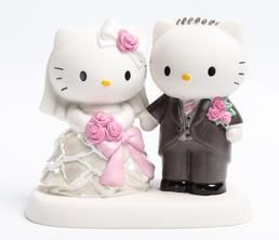 Someone should tell Sam this would be great for our Anniversary. Precious Moments x Hello Kitty: Wedding