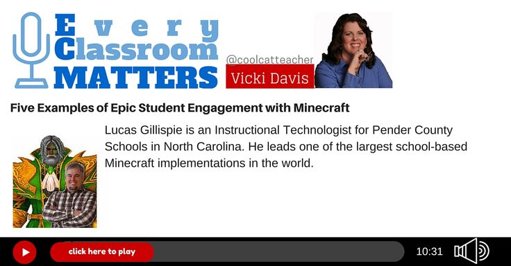 MInecraft in schools Lucas Gillispie is an Instructional Technologist for Pender County Schools in North Carolina. He is the founder of the WoWinSchool Project, a program designed to explore the educational potential of online games like World of Warcraft with middle schoolers and leads one of the largest school-based Minecraft implementations in the world.
