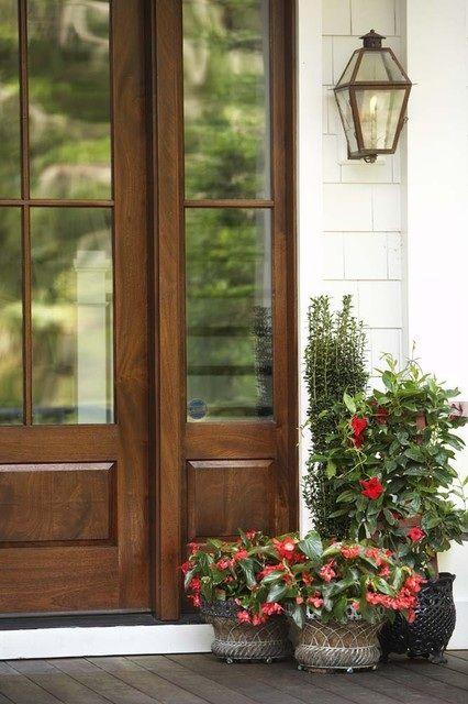 Front door with sidelight