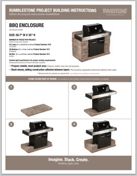 Rumble stone BBQ Surround - Got Questions? Get Answers!