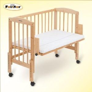 FabiMax cuna de colecho Babymax pro, incluye textil de cuna Patricia completo crema, colchón Silver: Amazon.es: Bebé