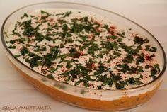 Çay daveti sofralarınızı süsleyecek güzel bir salata.. malzemeler: 2 su bardağı kırmızı mercimek 4-5 adet patates 1/2 demet maydanoz ...