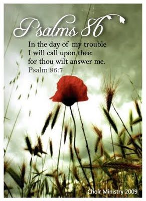 God will be with you through the storms of life. Psalm 86:7 The Creation of Creativity.blogspot.com