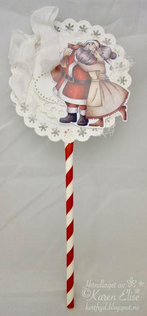 Lollipop Christmas card