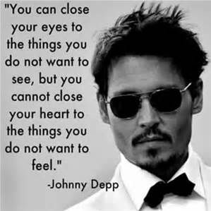 Here is Johnny Depp's quote that he has been bullied before.