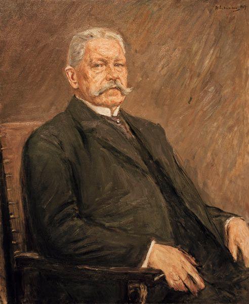 Max Liebermann - Reichspräsident  Paul von Hindenburg, 1927