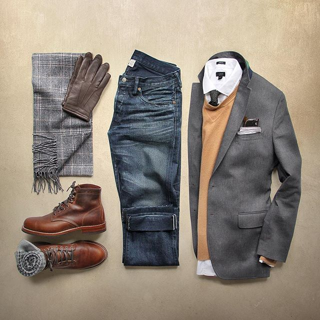 Outfit grid - Autumn day