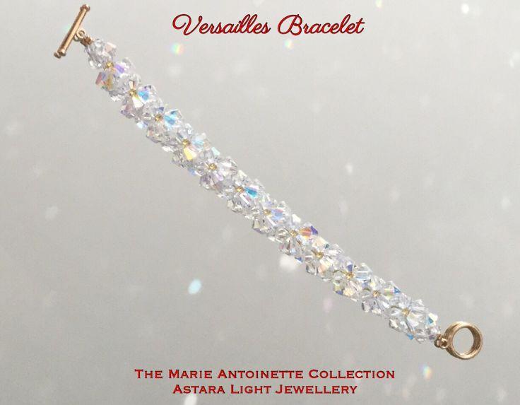 Versailles Crystal Swarovski Bracelet by AstaraAngelIntuitive on Etsy
