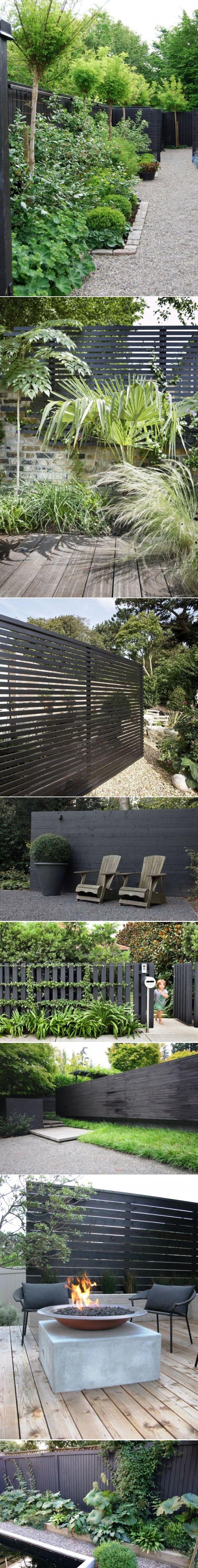 Trend Alert: Black Fences: Gardenista