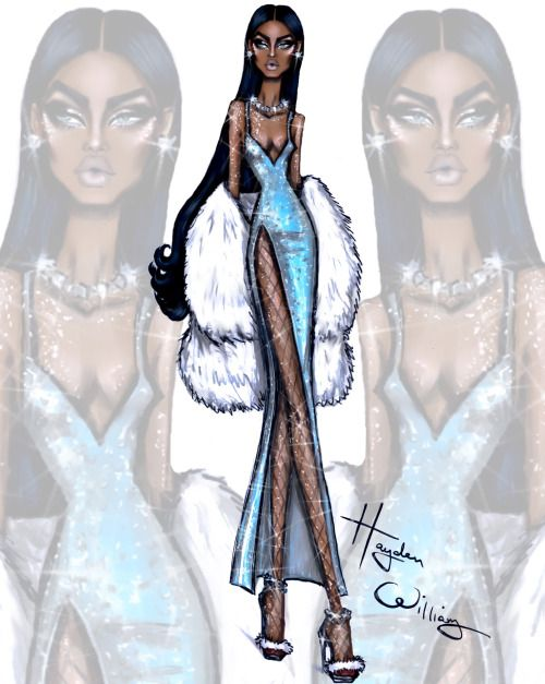 Glam Night Out: 'Ice Princess' by Hayden Williams
