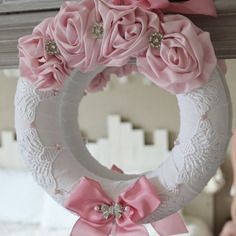 Couronne shabby chic