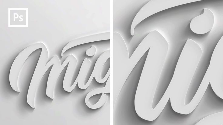 Hey guys, here is a Photoshop tutorial to show you how to create this 3D text effect to your text or lettering. Let me know your feedback in the comments sec...