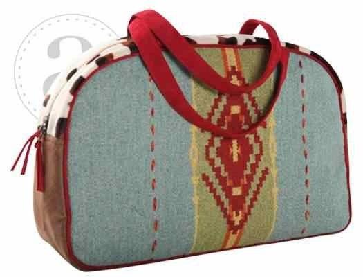 The Crazy Heifer - Mapuche  Diaper Bag, $169.95 (http://www.thecrazyheifer.com/mapuche-western-diaper-bag/)