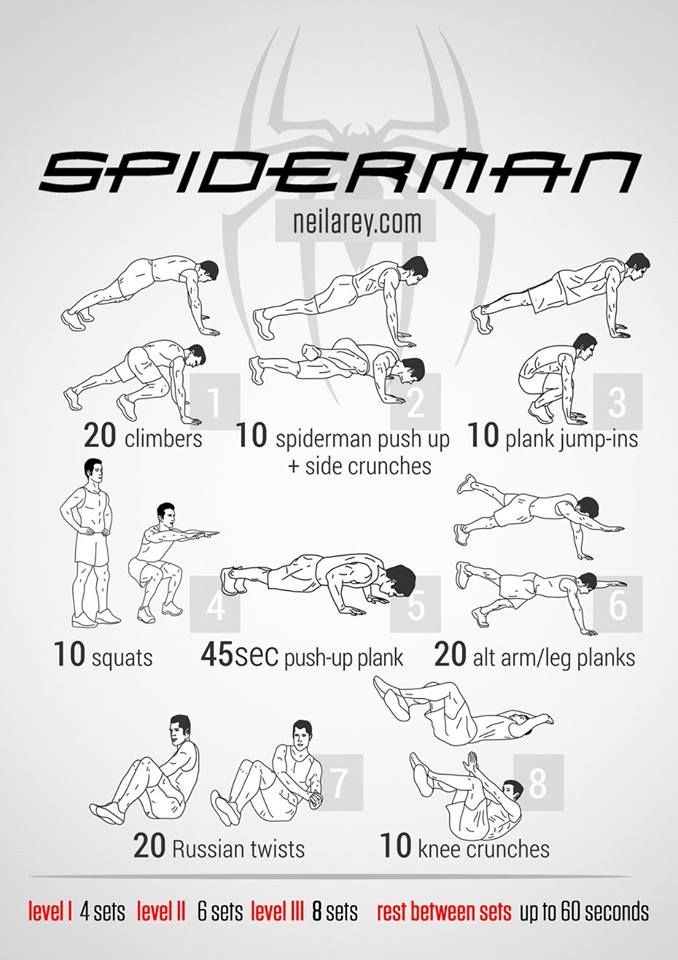how to get in superhero shape