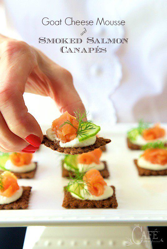 17 best ideas about salmon canapes on pinterest smoked for Smoked salmon mousse canape