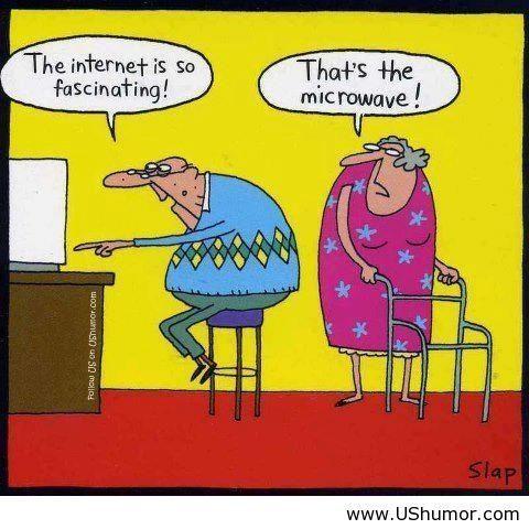 Hahaha funny old people
