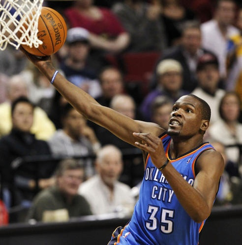 Raptors week ahead includes a visit to play Kevin Durant and Oklahoma Thunder