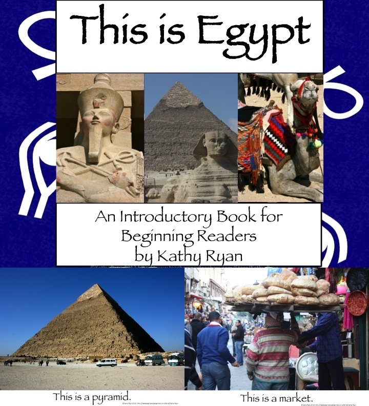 Bring Egypt to even beginning readers with this simple, picture based informational text mini-book. This book is set up like a level A-B beginning reader, with repetitive text and picture clues. This is a great resource to bring new vocabulary and a high-interest topic to your beginning readers.    This can be used as a shared reading text by displaying it on a SMART board, or by printing it out and binding it for an independent or guided reading book.