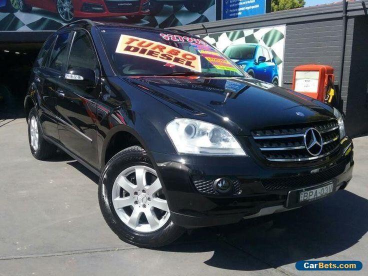 2007 Mercedes-Benz ML W164 07 Upgrade 320 CDI (4x4) Black Automatic 7sp A Wagon #mercedesbenz #ml #forsale #australia