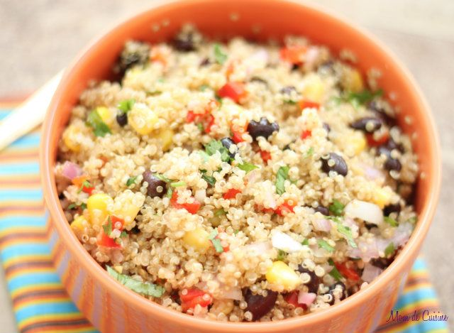 Fiesta Quinoa by momdecuisine: A party in your mouth! #Quinoa #momdecuisine