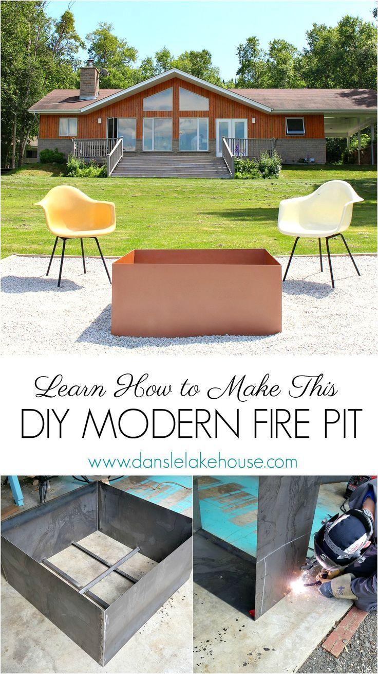 Welded Diy Fire Pit Modern Fire Pit Diy Outdoor Bar Diy Fire Pit
